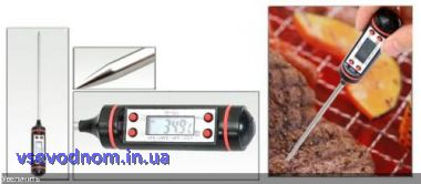 Градусник термометр пищевой кухонный в колбе