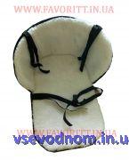 Матрасик подстилка на санки с полипропиленом внутри