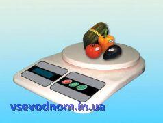 Электронные кухонные весы 7кг