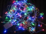 Новогодняя светодиодная гирлянда 100 диодов 4цвета
