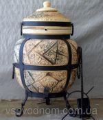 ТАНДЫР модель 7 (дизайн дикий камень), высота 100 см, диаметр 60 см
